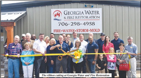 Georgia Water and Fire Restoration Opens its Doors in   LaGrange with Ribbon Cutting