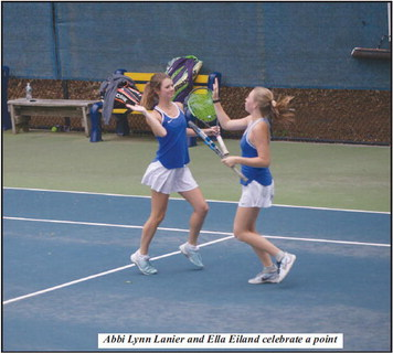 Granger Tennis Comes Up Short in Round Two of   State Championship