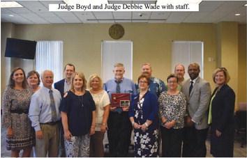 Community Celebrates Judge Donald Boyd's Eighteen Years of Service