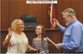 Debbie Wade Sworn in as New Probate Judge