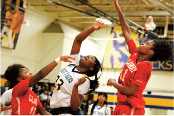 Gilbert Pumps Through 26,  Lady Tigers Rally Past Callaway