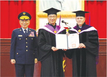 LaGrange Police Chief Awarded Honorary Doctorate,  First to Receive Honorary Doctorate of Law at CPU