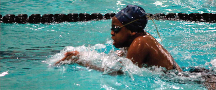 Montgomery Sets Goals, Cuts Times, Gets in the Swimming Fast Lane