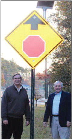 Troup County Installs New Roadway Safety Equipment