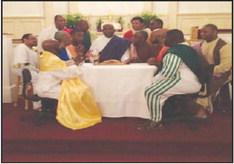 Warren Temple Presents  Living Last Supper