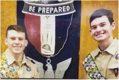 Scouts Earn Eagle Rank
