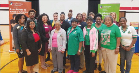 High School Young Women Learn About  Self-Care Through Communities in Schools