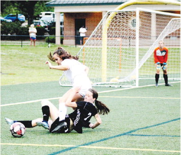 Early Scoring Chances Haunt Lady Grangers,  Blessed Trinity Routs LaGrange, 6-1
