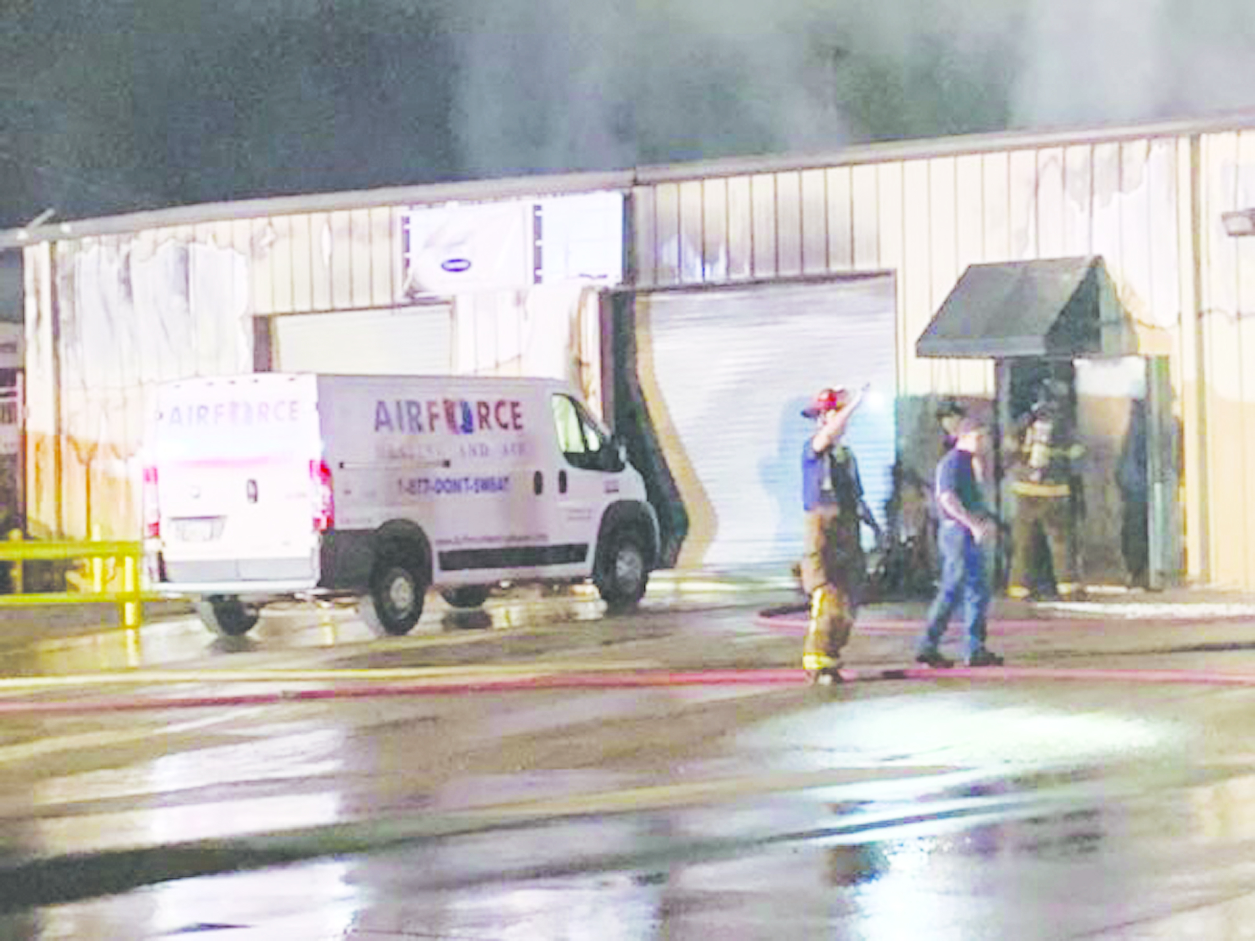"Airforce Heating & Air Suffers ""Total Loss"" in Fire, Business Continues On"