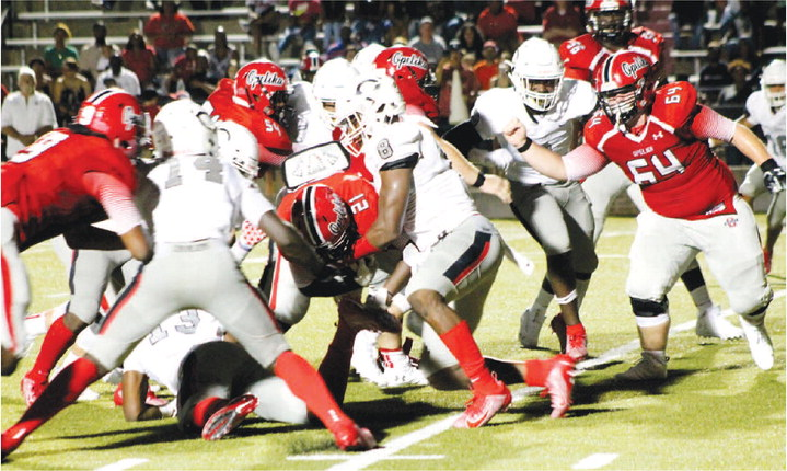 Bigsby Plows for 129 Yards, but Cavaliers Lose to Opelika