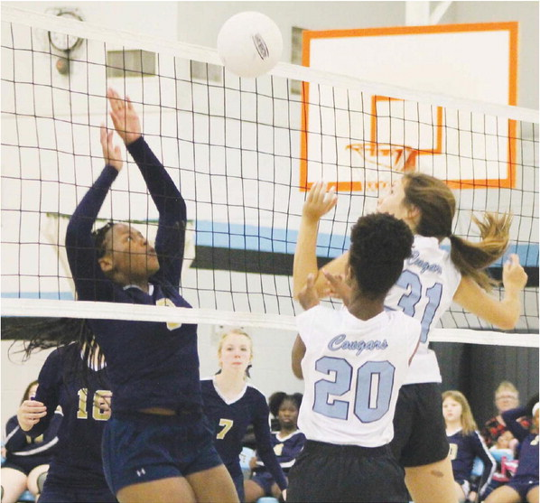Lady Cougars Refuse to Lose,  Lafayette Holds Off Heirway, 3-1