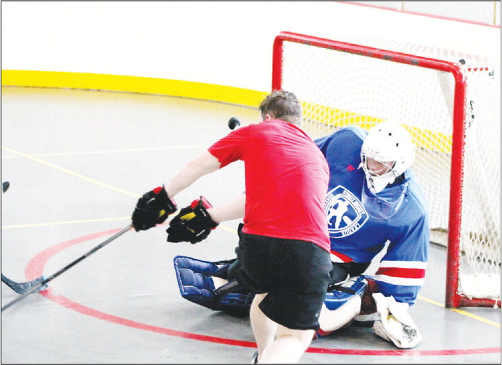 "Sunday Ritual: LaGrange Street Hockey,  Shaw: ""We sweat together, play together."""