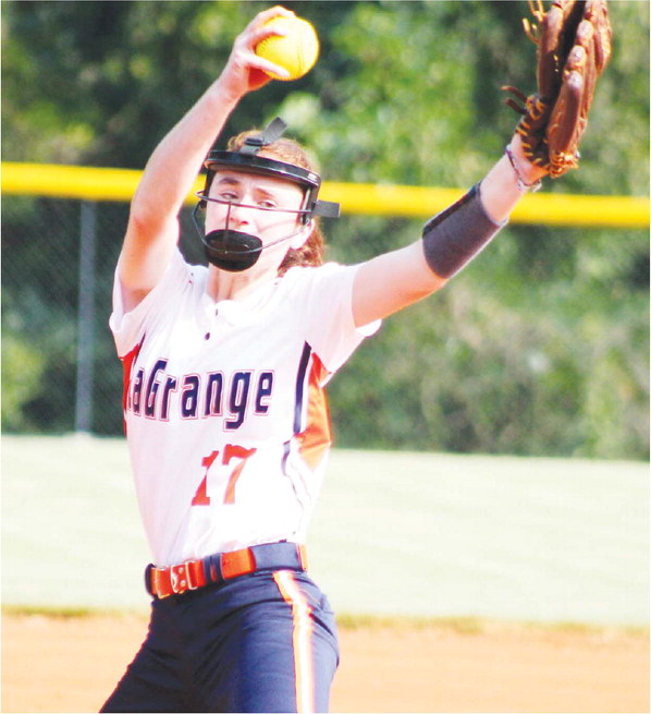 Corley Strikes Out 11, but Lady Warriors Lose to Eagles