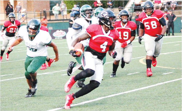 Cavaliers Cruise Past Cross Keys,  Callaway Holds Indians to 43 Yards