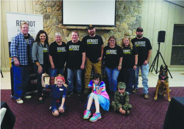 REBOOT Recovery  Offers Help and  Trauma Healing for  Combat Veterans and  First Responders