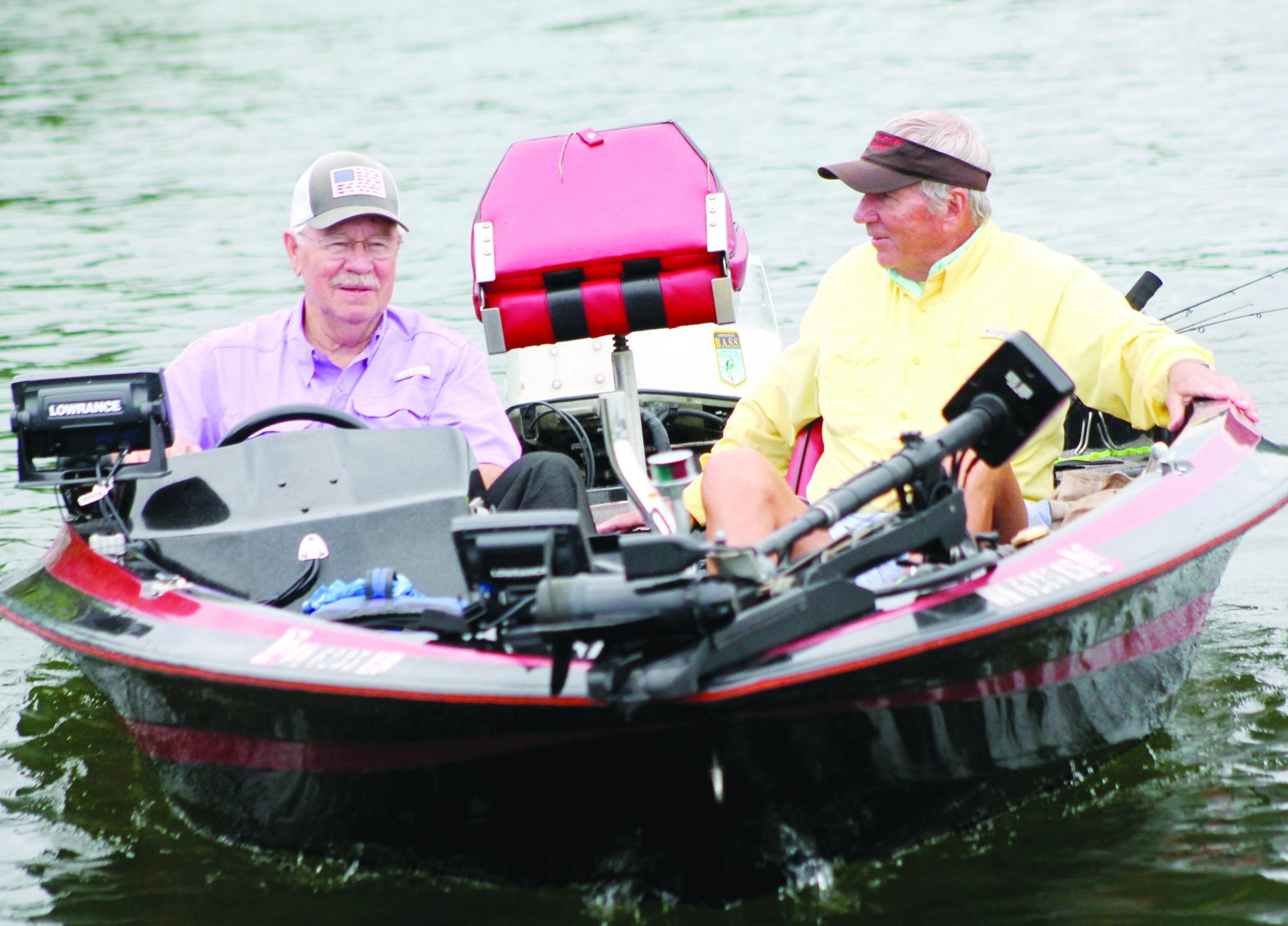 Rainy Day Bass: Wilkinson and Olson Brave the Wet Conditions, Catch 24 Anyway