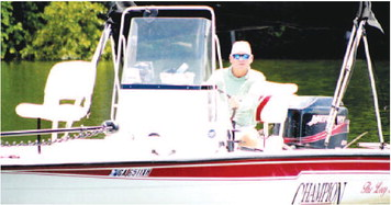 """Bass Fishermen are Cranking, Vincent: """"I average 35 fish a day."""""""