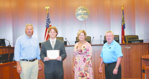Jared Nation Receives  COAG Scholarship
