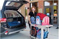 Faith Baptist Church Donates Backpacks