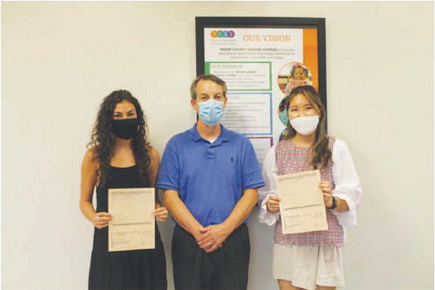 Chartwells Scholarship Given to Two TCSS Graduates
