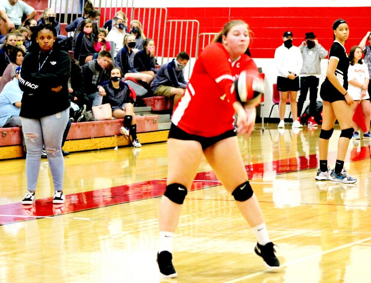 Block Party: Bledsoe and Lady Cavs Shave the Blue Devils, 2-1 on Senior Night