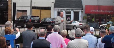 Doug Collins, Mike Huckabee Campaign on LaGrange Square