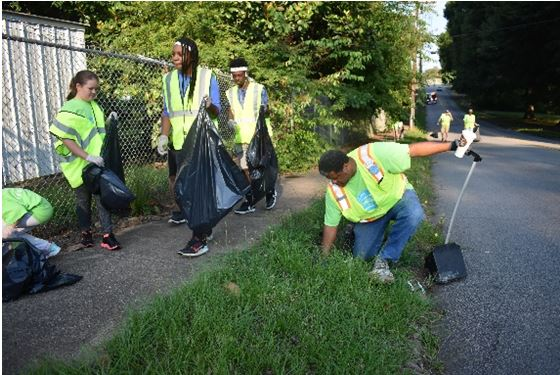 City of LaGrange to Resume Litter Clean-Up