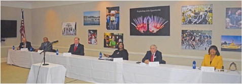 Local Candidates Participate in Chamber Forum