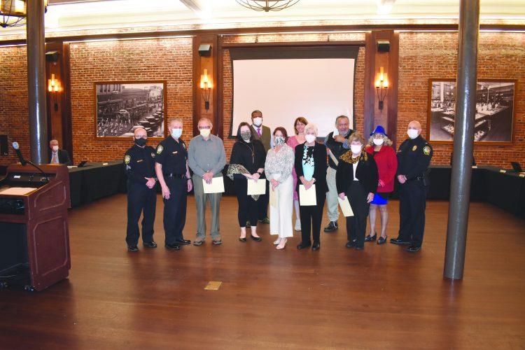 City Council Hosts Citizens Police Academy Graduation