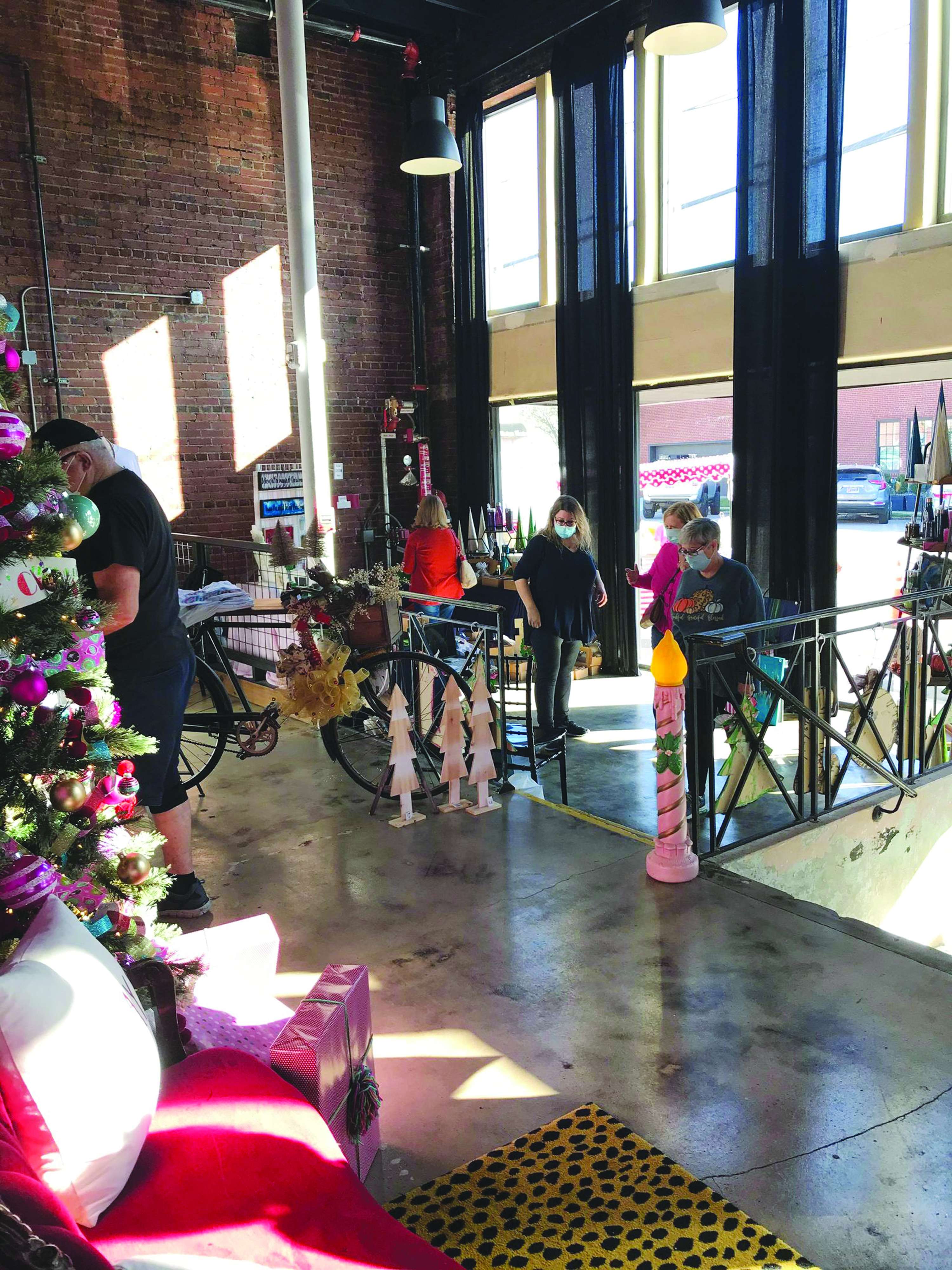 The Burrow Warehouse Holds Merry Market Event in West Point