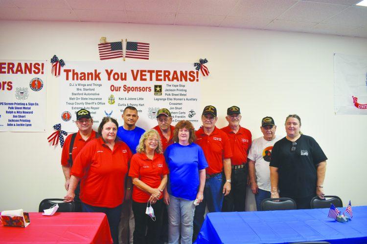 Vets Brave Rain to Celebrate Veterans Day at Elks Lodge