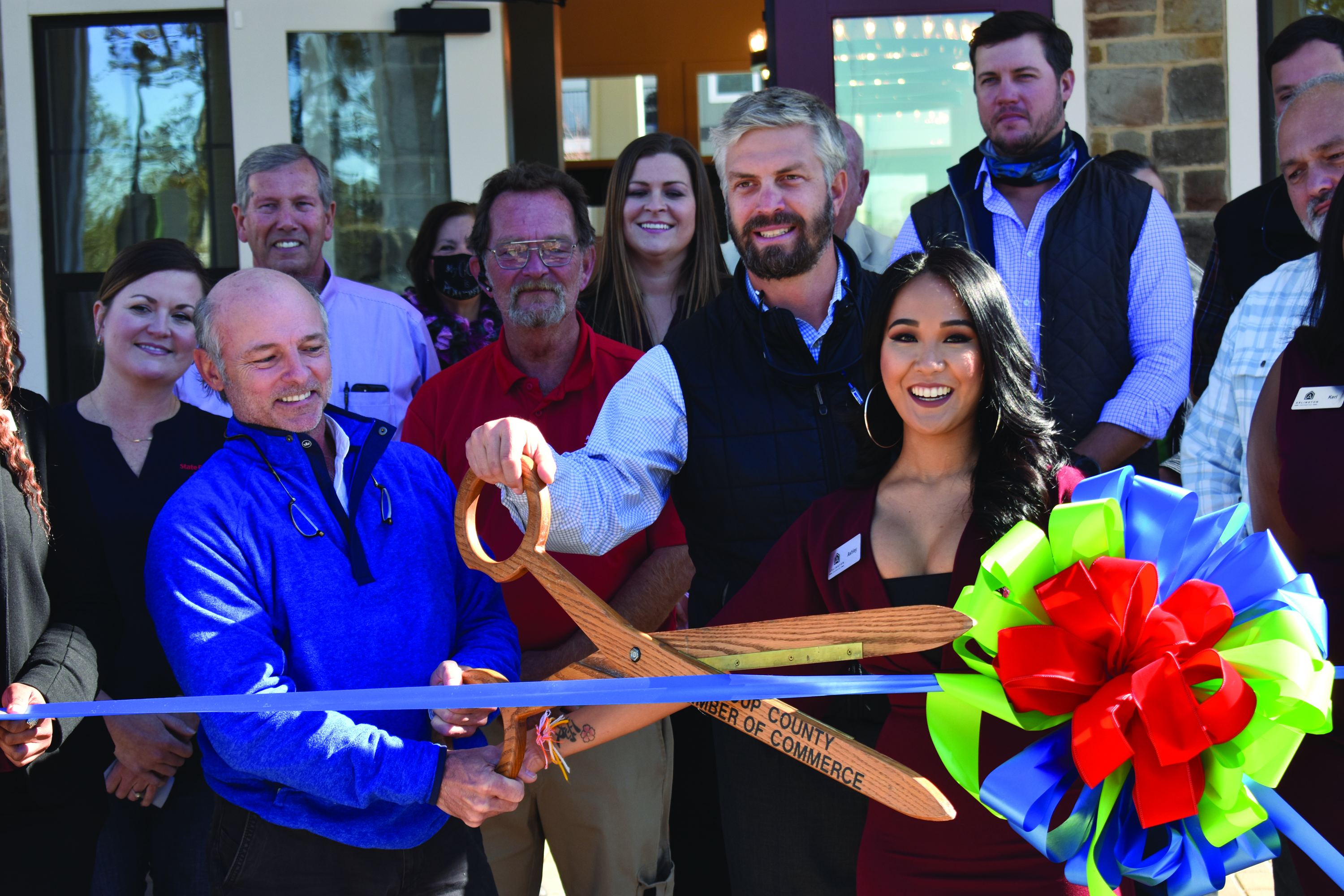 The Yard on Mill Holds Ribbon Cutting Ceremony