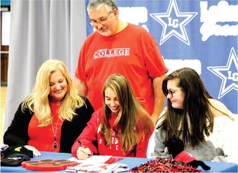 Dennis Signs with Georgia Highlands, Vanhoose Selects LaGrange College