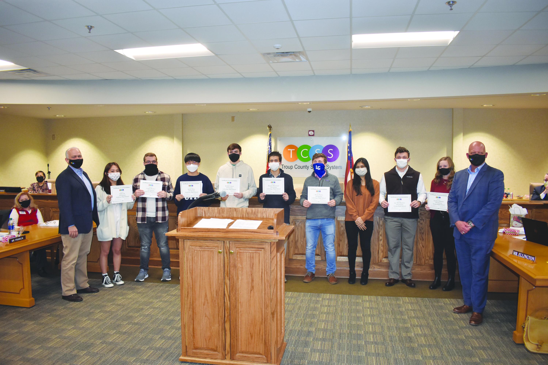 December School Board Recognitions