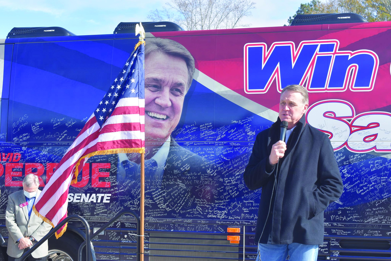 Senator David Perdue Visits LaGrange,  Encourages Republicans to Vote