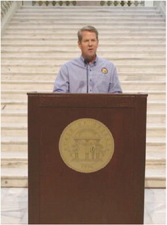 Governor Kemp Provides Update on COVID Vaccine Distribution,  Mayor Thornton Urges Residents to  Follow COVID Protocols
