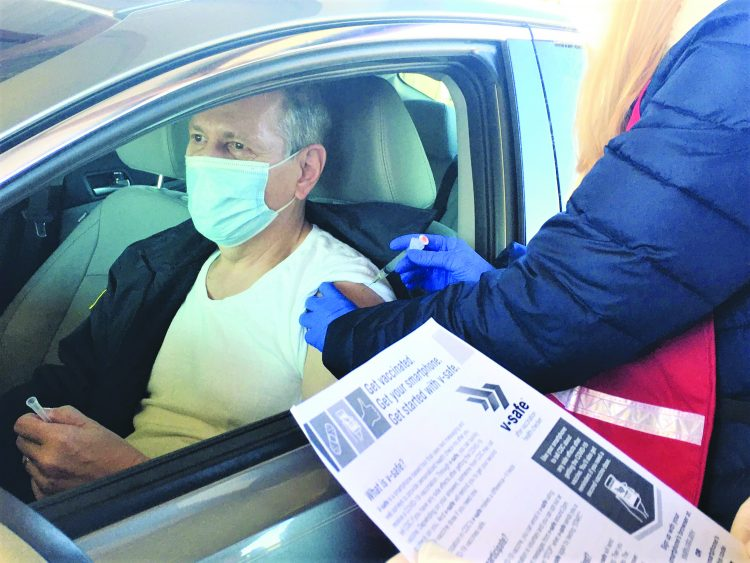 LaGrange Police & Fire Receive First Dose of COVID-19 Vaccine, District 4 Public Health to Expand Phase 1A