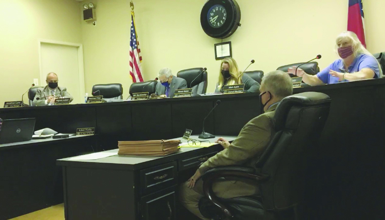 Hogansville Mayor Bill Stankiewicz Condemns Violence