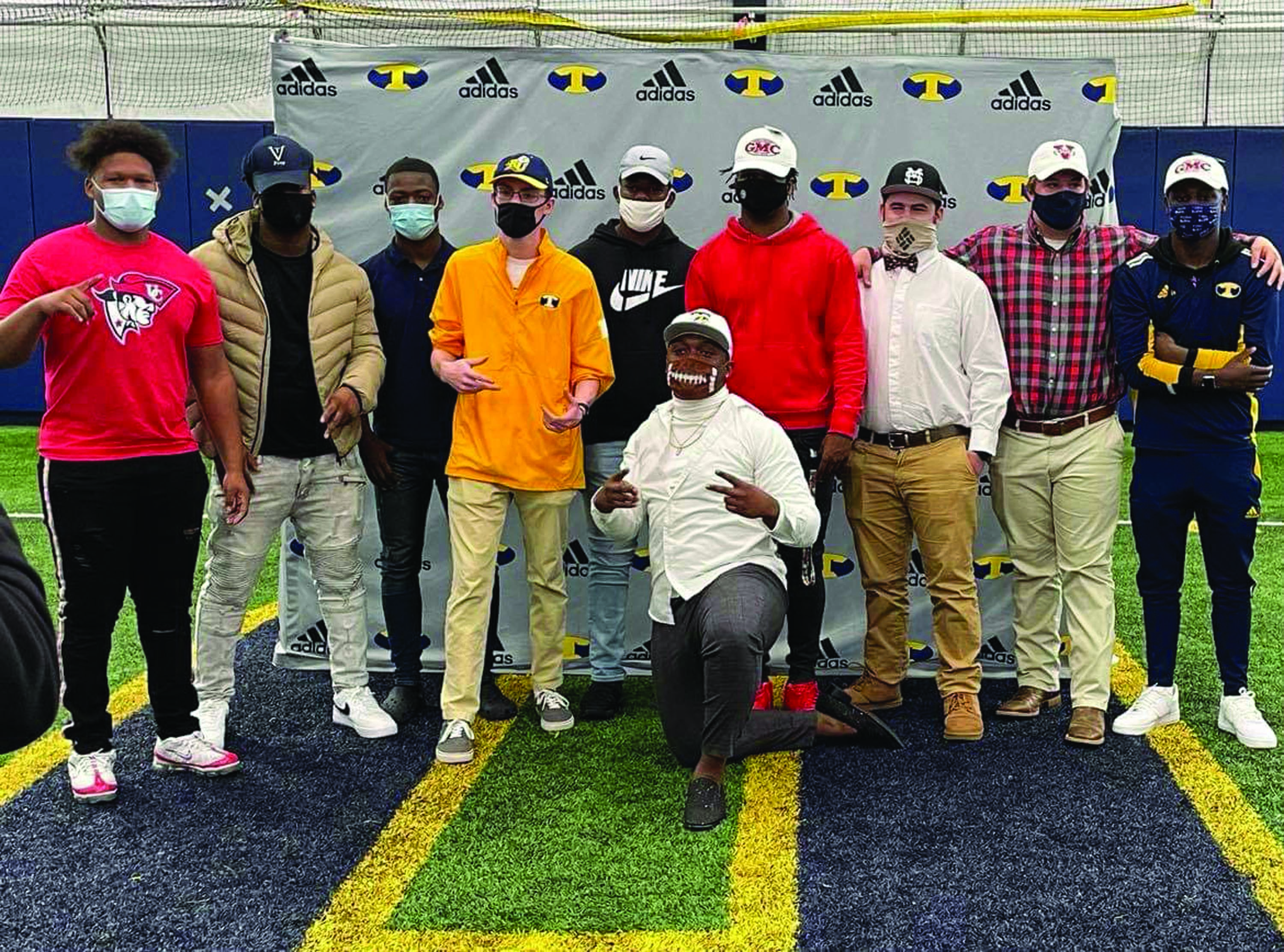 Troup High Athletes Participate in Signing Day Ceremony