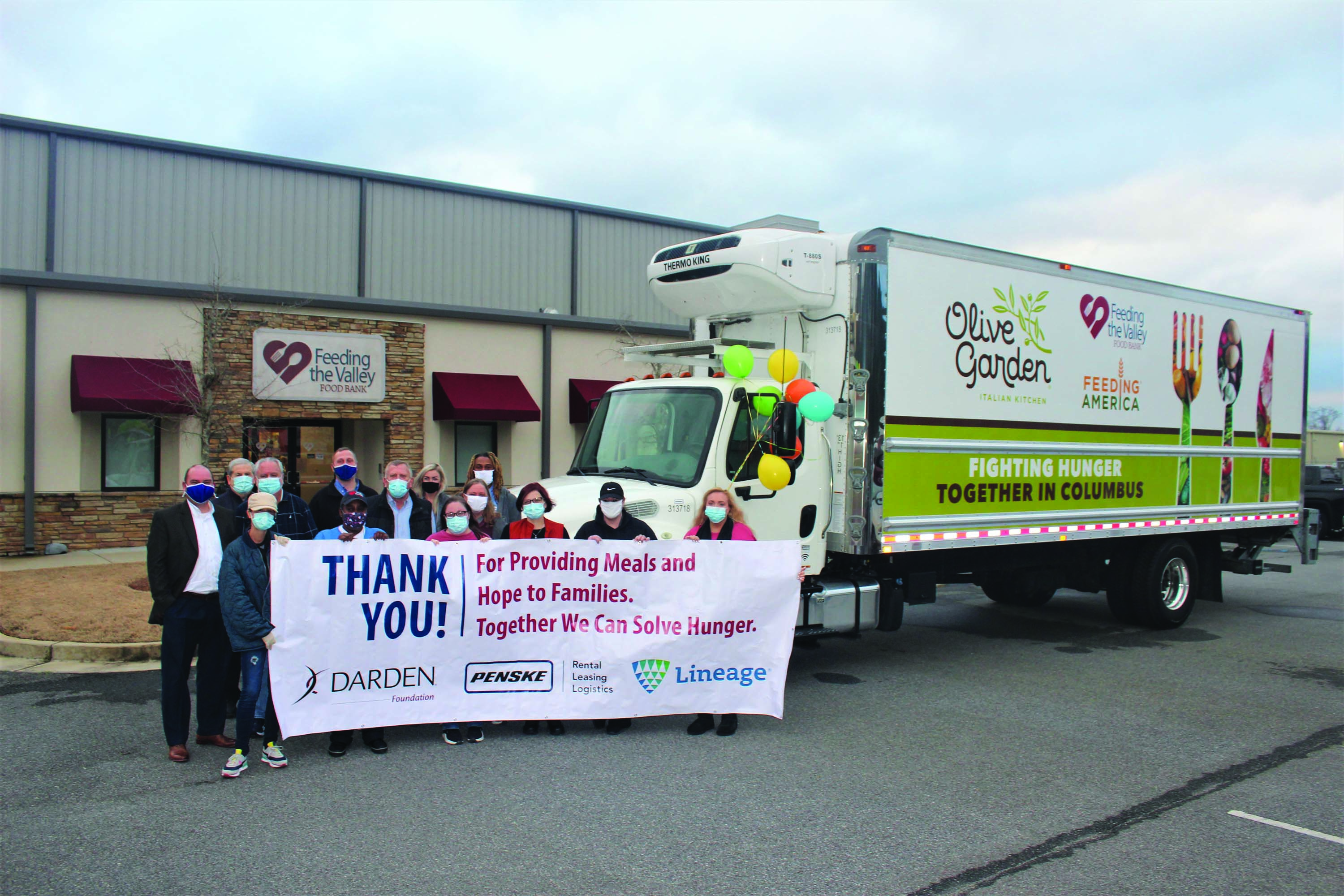 Feeding the Valley Food Bank Receives Vehicle and Funding to Help People Who Face Hunger in Their Service Area