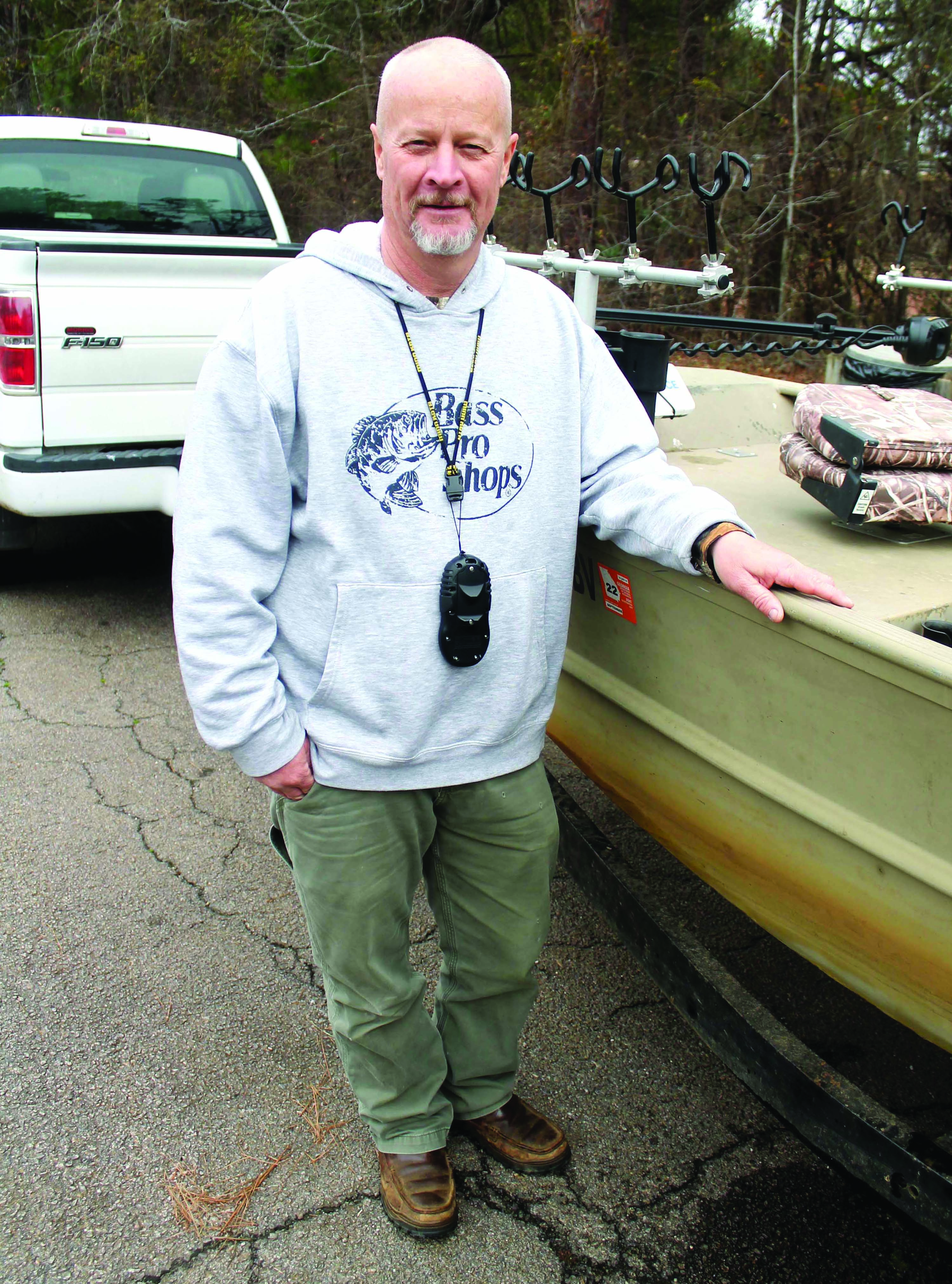 Robinson Cashes in with 64 Crappie, All are Released