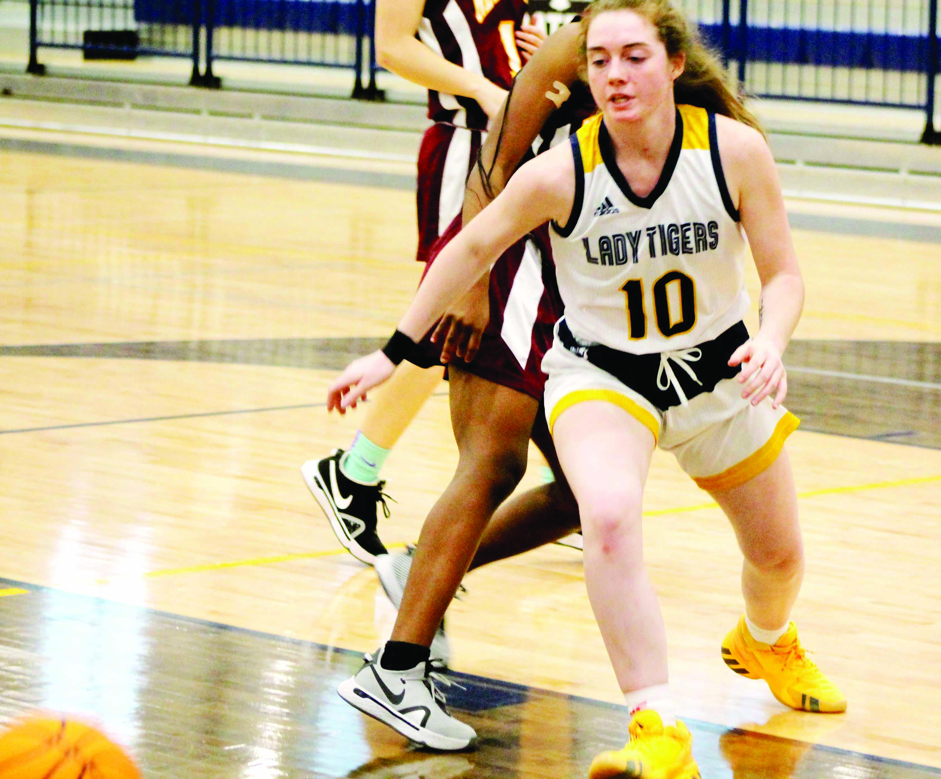 New Hampstead is Shellshocked, Lady Tigers Win by 42 Points