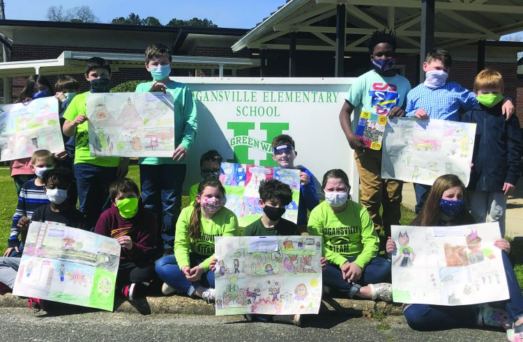 Hogansville Elementary Students Participate in Super Hero Project