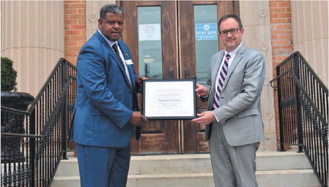 LaGrange Councilman Nathan Gaskin  Earns Certificate of Excellence